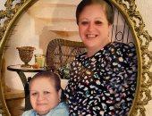 مى نور الشريف تنشر صورة لخالتها المتوفية وتطالب جمهورها بقراءة الفاتحة