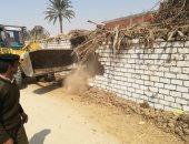 """""""زراعة سوهاج"""": إزالة 140 حالة تعدٍ.. وصرف الأسمدة بكارت الفلاح"""