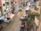 صور.. سقوط أمطار على الإسماعيلية وانتظام حركة الملاحة فى قناة السويس