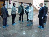 إعفاء طلاب مدن جامعة جنوب الوادى من المصروفات خلال فترة تعليق الدراسة