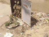 قارئ يرصد كشك كهرباء مفتوح بمدينة بدر فى القاهرة