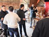 نائب محافظ بورسعيد يقود حملة مكبرة على المقاهى لمصادرة الشيشة.. صور