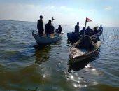 صور.. إدارة بحيرة البردويل تخفف الكثافة بالمصالح الحكومية بشمال سيناء