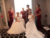 مبقتش أم العروسة.. فتاة ووالدتها تتشاركان فى حفل زفاف واحد.. اعرف القصة