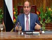 20 رسالة من الرئيس السيسى للمصريين لمواجهة كورونا وتبعاتها
