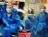 ووهان جديدة.. مستشفيات طوارئ ببريطانيا بعد تفشى كورونا.. فيديو