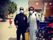 مبادرة لشباب قرية الأمبركاب بأسوان لتطهير المساجد والمحلات لمواجهة كورونا