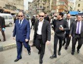 محافظ القاهرة للباعة بالعتبة: منع التجمعات فى مصلحة الجميع.. صور