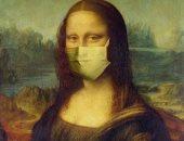 الفن فى زمن كورونا.. فنان يعيد تخيل اللوحات الشهيرة بكمامات بمواجهة الفيروس