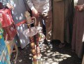 الوحدة المحلية لقرية العركى بقنا تشن حملات لضبط المقاهى المخالفة لقرار منع الشيشية