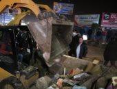 محافظ الغربية يقود حملة لرفع الإشغالات وإزالة سوق عشوائى بكفر الزيات