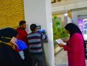 شباب مدينة غارب يوزعون ورقة إرشادات للوقاية من فيروس كورونا.. صور