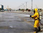 محافظ السويس: بدء حملة تطهير فى الشوارع لمنع انتشار فيروس كورونا.. صور