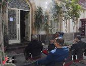 صور.. بنك مصر بمقر البرلمان يطبق الإجراءات الاحترازية لمواجهة الكورونا