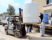 صور.. محافظ كفر الشيخ: توزيع 8 أطنان كلور للتطهير للوقاية من كورونا