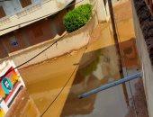 مياه الصرف الصحى تدخل منزل قارئ بقرية بالدقهلية
