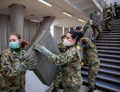 جيش صربيا يتدخل في مواجهة انتشار فيروس كورونا ببناء مستشفى مبدانى