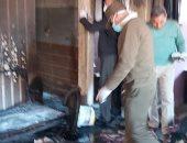 حفظ التحقيقات حول واقعة نشوب حريق داخل مخزن للمواد الغذائية بالشرابية