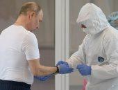 الرئيس الروسى يزور مستشفى للمصابين بفيروس كورونا..صور