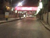 ضبط 10 أشخاص خرقوا حظر التجوال بمدينة كفر شكر فى القليوبية