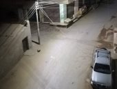 فيديو.. سيارات الشرطة تتابع تنفيذ حظر التجوال بالجيزة