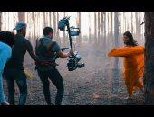 """فيديو وصور.. يوسف فوزى يمزج الساكسفون بالرقص المعاصر لـ""""داليا فريد"""""""
