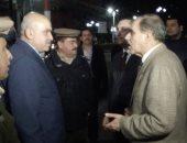 محافظ كفر الشيخ ومدير الأمن يتابعان تطبيق الحظر ويتجولان بالشوارع والأحياء