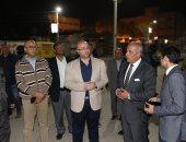 محافظ بنى سويف ومدير الأمن يتفقدان الميادين لمتابعة تنفيذ حظر التجوال