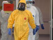 """بوتين بـ """"بدلة الوقاية من فيروس كورونا"""" يثير الجدل بين رواد السوشيال ميديا"""