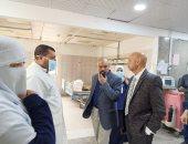 وكيل صحة الشرقية يتابع نقل العيادات الخارجية من مستشفى أبو كبير