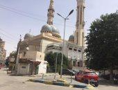 """مساجد الإسماعيلية تغلق أبوابها فى أول """"جمعة منزلية"""" لمواجهة كورونا.. صور"""