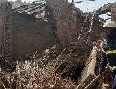 انتشال جثتى أم وابنها انهار عليهما المنزل فى مركز أبنوب بأسيوط