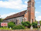 منزل سماوى.. كنيسة متاحة للتحويل لبيت فاخر للبيع فى بريطانيا بسعر مذهل