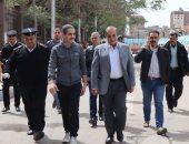 محافظ الغربية ومدير الأمن فى جولة بمدينة طنطا لمتابعة تنفيذ قرار الحظر