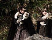 وفاة ذئب مسلسل Game Of Thrones بعد صراع مع مرض السرطان.. صور