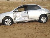 """إصابة 6 أشخاص فى تصادم سيارة أجرة مع ملاكى بطريق """"القصير - مرسى علم"""""""