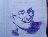 قارئ يشارك صحافة المواطن بصور لوحاته لإبراز موهبته الفنية