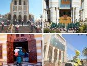 القوات المسلحة تنفذ عمليات تطهير لمشيخة الأزهر الشريف والإفتاء والكاتدرائية..فيديو