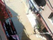 قارئ يشكو انتشار مياه الصرف الصحى المستمر بكفر نصار فيصل