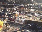شكوى من انتشار القمامة بمنطقة مطار إمبابة فى الجيزة