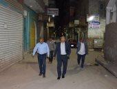 سكرتير محافظة الأقصر يقود جولة لمتابعة تطبيق حظر التجوال بالشوارع