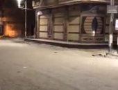 شوارع الغربية خالية من المارة مع تطبيق حظر التجوال لليوم الثالث.. فيديو