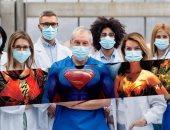 صديقة رونالدو تدعم الأطباء فى مواجهة كورونا برسالة قوية وصورة أبطال خارقين