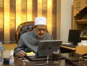 الإمام الأكبر يتلقى اتصالا هاتفيا من ولى عهد أبوظبى للتهنئة بشهر رمضان