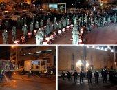 القوات المسلحة تعقم العتبة وحى الموسكى للوقاية من كورونا