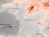 الأقمار الصناعية تظهر انخفاضًا كبيرًا فى تلوث الهواء فوق باريس ومدريد..صور