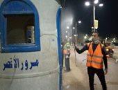 صور.. أهالى الأقصر يلتزمون بتطبيق حظر التجول والشباب يعقمون الشوارع