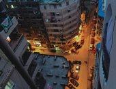 """""""عبد الناصر"""" يشارك بصورة لالتزام أهالى ميامى فى الإسكندرية بحظر التجوال"""