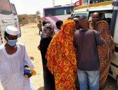 """""""جدعنة الصعايدة"""".. أهالى قرية بالأقصر يقدمون الأكل والدواء لسودانيين عالقين"""