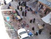 اضبط مخالفة.. سوق الغزالى بمدينة زفتى فى الغربية يعود للعمل رغم إزالته